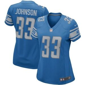 Women's Detroit Lions Kerryon Johnson Jersey